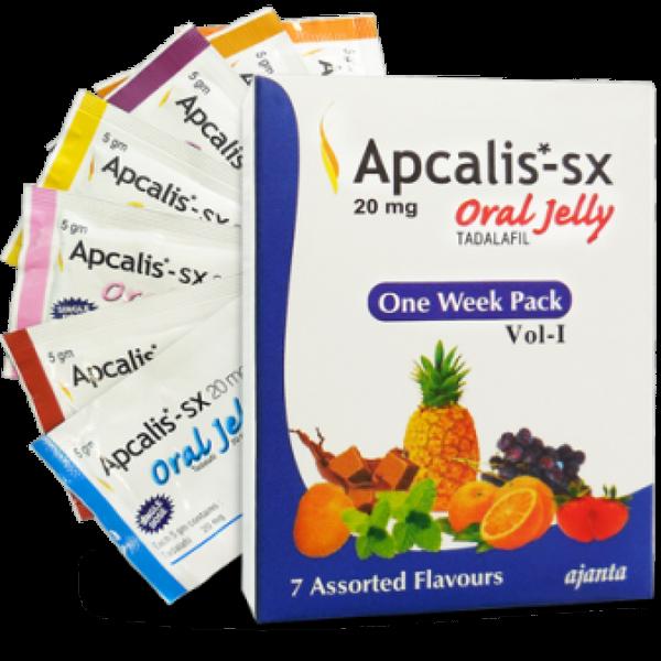 TADALAFIL buy in USA. Apcalis SX Oral Jelly 20mg - price and reviews
