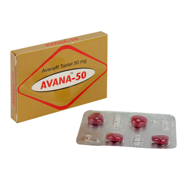 AVANAFIL buy in USA. Avana 50 mg - price and reviews