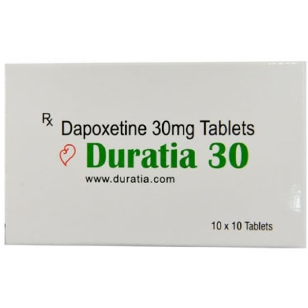 DAPOXETINE buy in USA. Duratia 30 mg - price and reviews