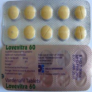 VARDENAFIL buy in USA. Lovevitra 60 mg - price and reviews