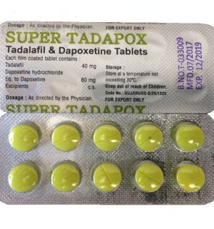 DAPOXETINE buy in USA. Super Tapadox - price and reviews