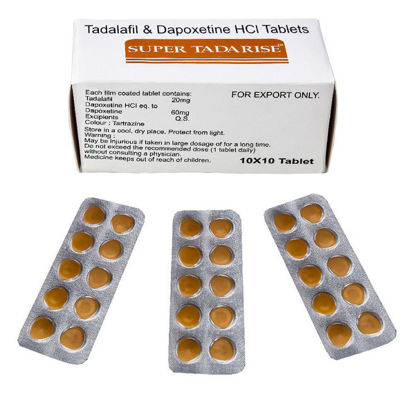 DAPOXETINE buy in USA. Super Tadarise - price and reviews