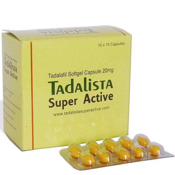 TADALAFIL buy in USA. Tadalista Super Active - price and reviews