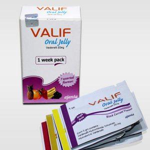 VARDENAFIL buy in USA. Valif Oral Jelly 20 mg - price and reviews