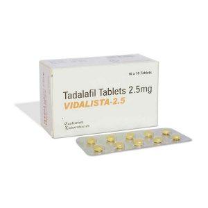 TADALAFIL buy in USA. Vidalista 2.5 mg - price and reviews